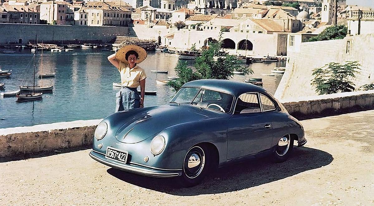 На фото - Porsche 356 1949 року випуску
