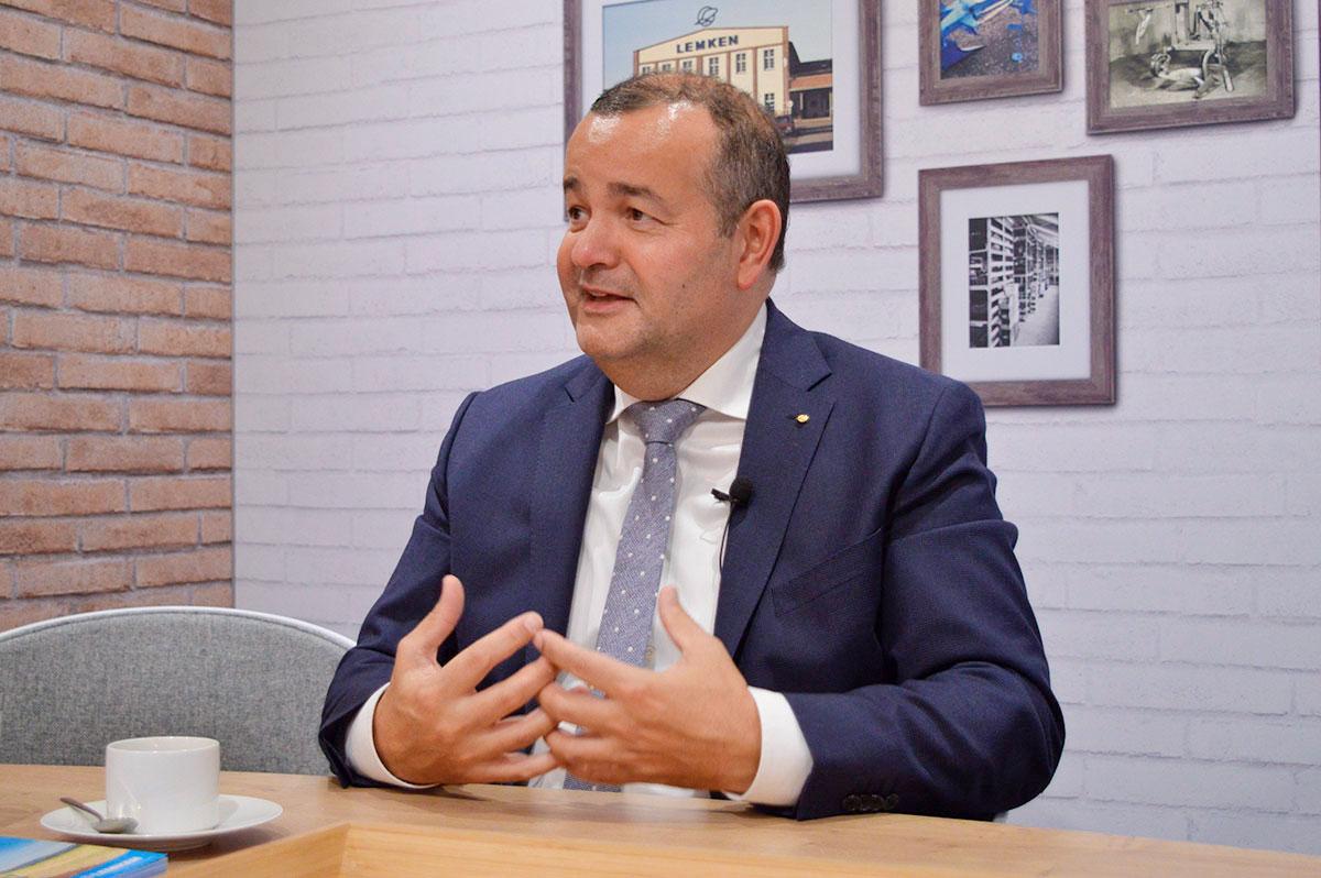 Ентоні ван дер Лей, генеральний директор LEMKEN